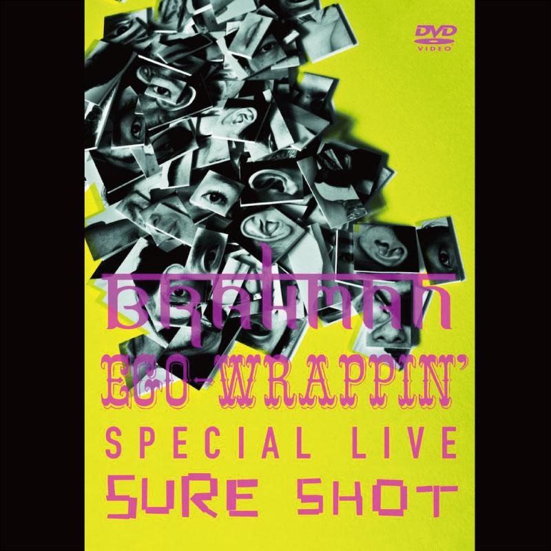BRAHMAN / EGO-WRAPPIN' special live DVD 『BRAHMAN/EGO-WRAPPIN' SPECIAL LIVE SURE SHOT』