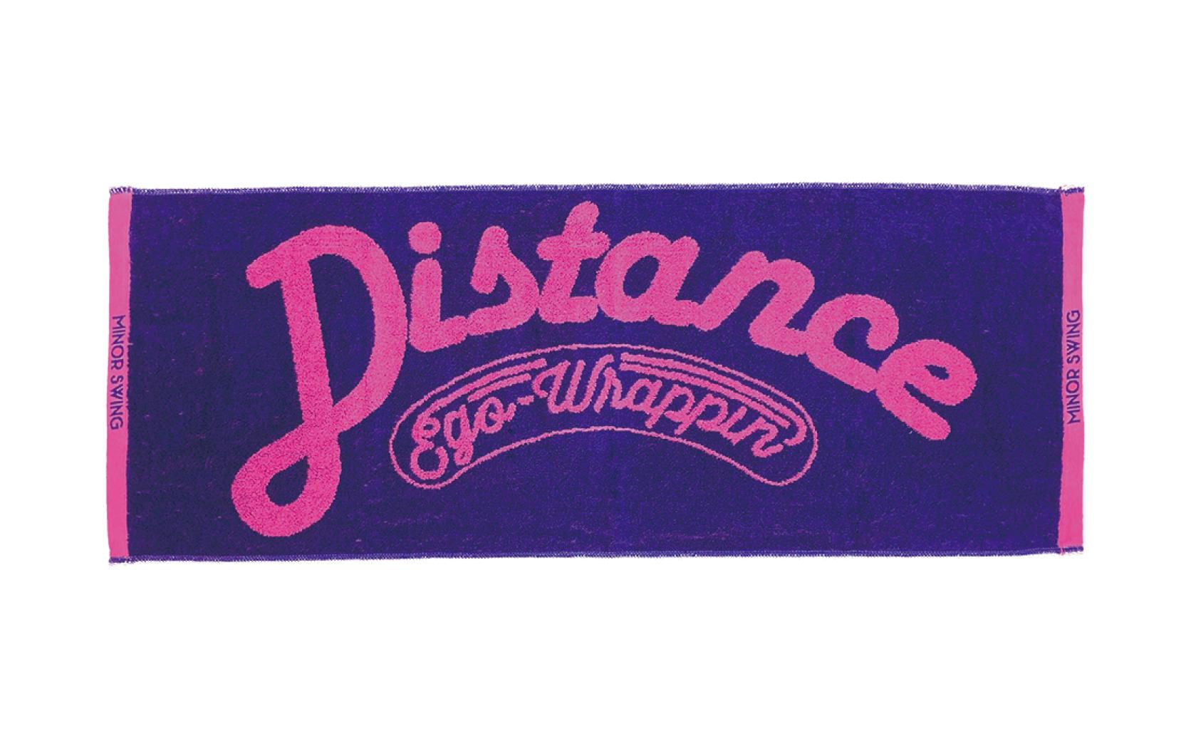 Distanceフェイスタオル