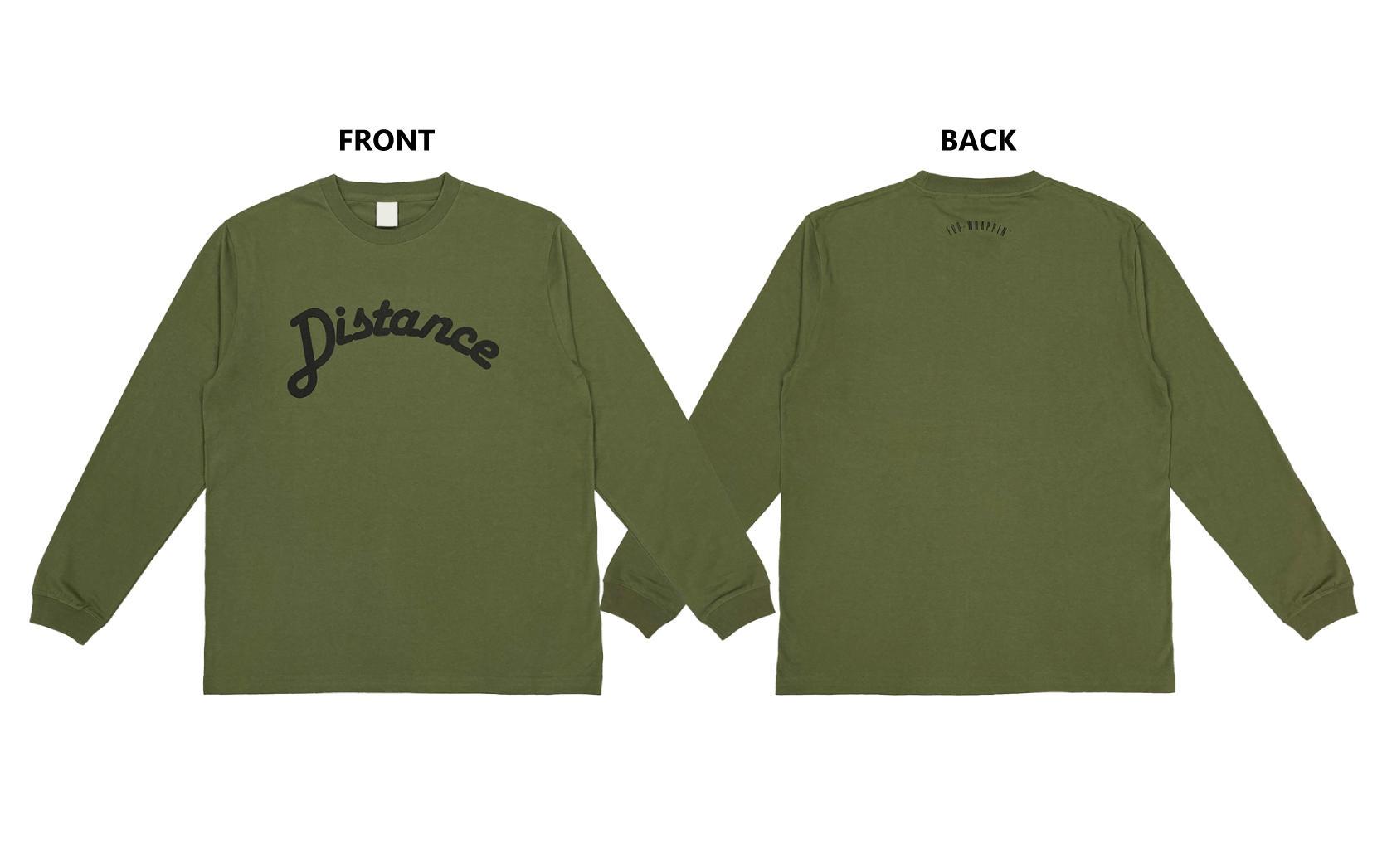 Distance  ロングスリーブTシャツ