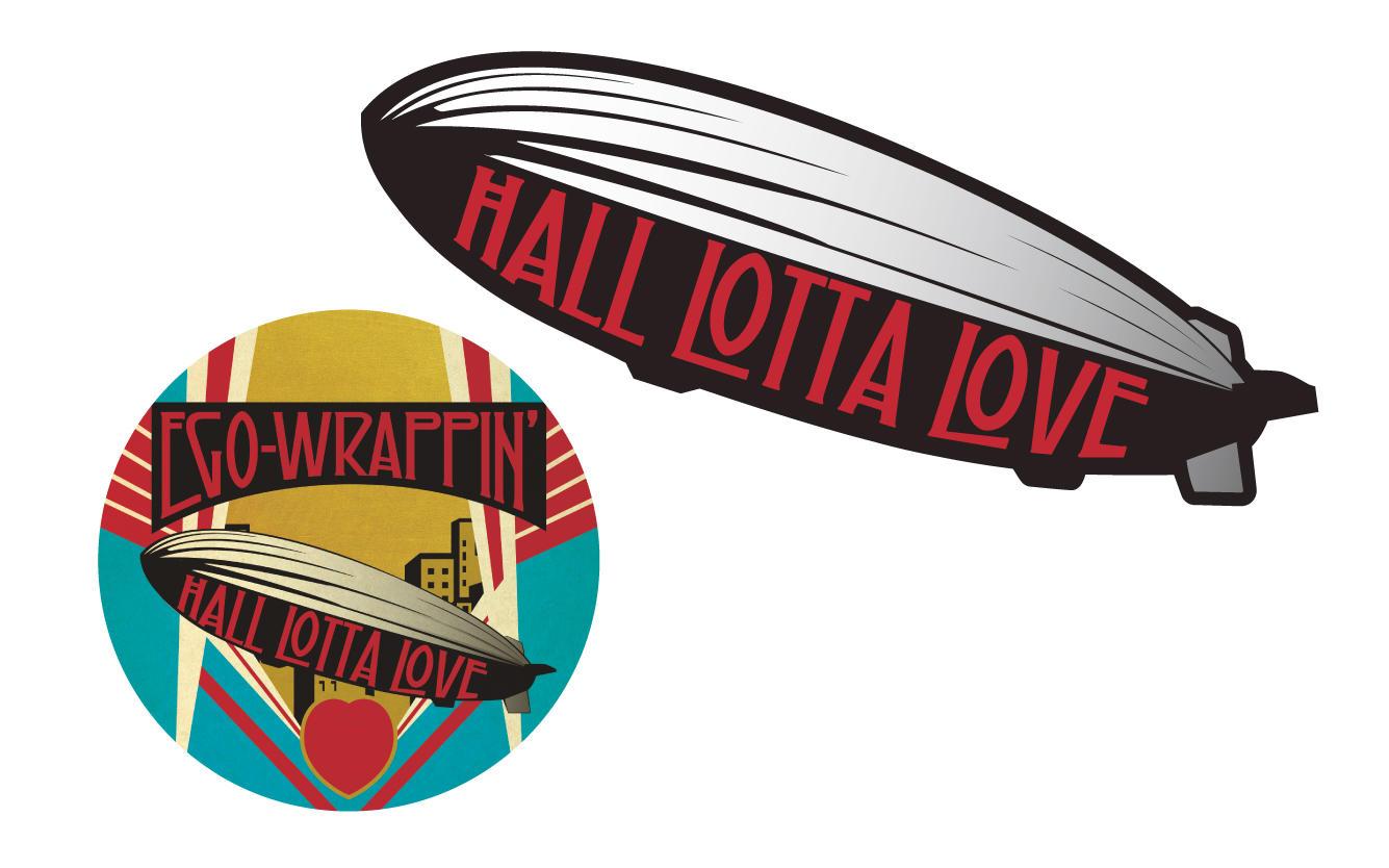 HALL LOTTA LOVE ステッカーセット