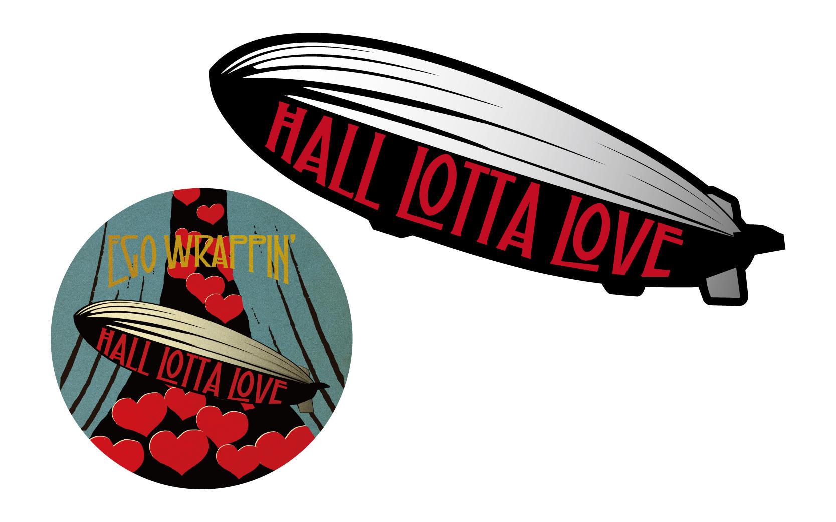 HALL LOTTA LOVE ステッカーセット -飛行船セット-